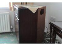 Vintage Mahogany TV stand