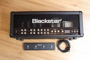 USED BLACKSTAR 100 ONE SERIES - 4 CHANNEL AMP HEAD Moorooka Brisbane South West Preview