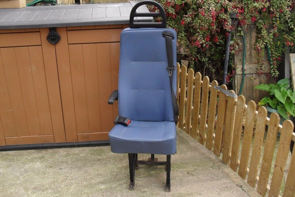 Van Seat with Seat Belt, camper van, bolt in, VW, Ford, etc