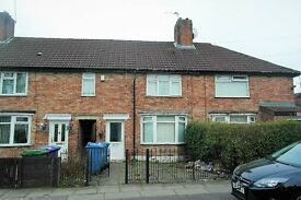 12 Rothbury Road, Page Moss, 3 bedroom mid terraced to let, with DG & GCH. Rear garden DSS WELCOME