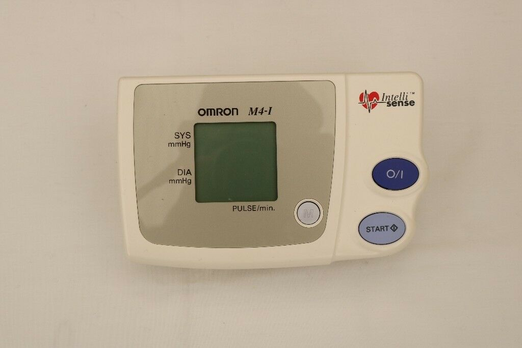 Omron m4 i users manual 332434 | blood pressure | hypertension.