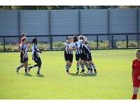 Do you play women's football and score goals?