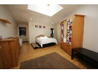 Very, very spacious studio flat in Thornton Heath with garden(Bills included)