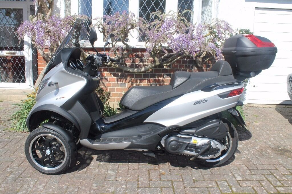piaggio mp3 500 asr abs 64 plate heated grips givi 47. Black Bedroom Furniture Sets. Home Design Ideas
