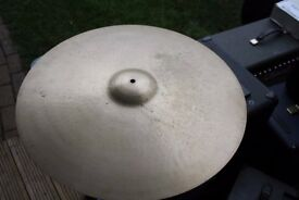 "Paiste Formula 602 24"" Thin cymbal - Swiss - Vintage"