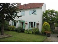 North Yorkshire 3 bed village house with enclosed garden in easy access to NY Moors York & coast