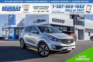 2012 Kia Sportage SX **Sunroof! Heated Seats!**