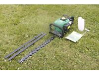 25cc Petrol Hedge Trimmer Cutter AS-NEW WITH WARRANTY! Includes manual and free fuel mixing bottle!