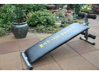 Gold's Gym sit-up bench / board (sit up)