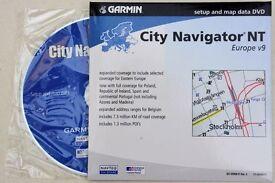 Garmin City Navigator NT Europe V9 CD Rom Unused
