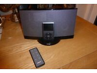 BOSE SOUNDDOCK SERIES II iPOD/iPHONE DOCKING STATION WITH AUX INPUT