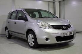 2009 Nissan Note Auto 1.6 16v, Low Mileage Automatic