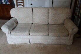 3 seater sofa bed, settee, couch ~ Spelsbury High Back by Wesley Barrell (1of 2)