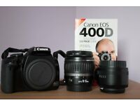 Canon Digital Camera EOS 400D with Lenses £150