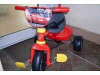 Cars 3 Tricycle Brand new by Smoby - Ready built