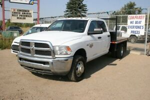 2013 RAM 3500 Crewcab SLT Dually 4x4 8.5 foot deck