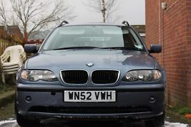 BMW 320d eastate / tourer . New 12month MOT , 50mpg , 150bhp ,very reliable car ,16inch alloys