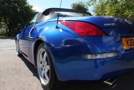 Nissan 350z, Blue Convertible, 5300 (ONO)