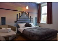 LOVELY CLEAN SPACIOUS HOTEL ROOM WITH EN SUITE AVAILABLE £59.00 PER NIGHT ICL