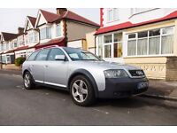 Audi Allroad 2.7 T, good condition and fresh MOT. Clean leather interior, BOSE audio