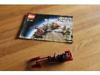 Lego Star Wars Speeder bike & instructions