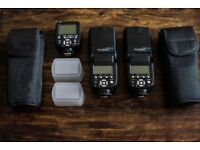 YONGNUO 2pcs YN-560 IV Flash Speedlite With 560TX-C Transmitter for Canon