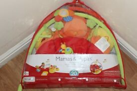 MAMAS AND PAPAS PLAYMAT AND GYM