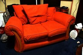 Couch Red Two seater