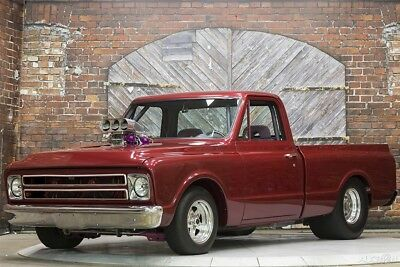 71 Pro Street Supercharged 454 V8 NOS Auto Custom Pickup Show Drag Truck Red