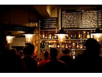 FANTASTIC CAREER OPPORTUNITY IN CENTRAL LONDON GASTRO PUB. OVER £10 P/H FOR THE RIGHT CANDIDATE.