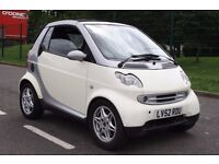 2002 SMART FOR TWO 0.6 FULLY AUTO, LOW MILEAGE, CABRIO