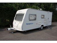 Bailey Ranger 510/4 2007 4 Berth Caravan + Motor Movers + Full Isabella Awning