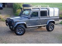 And Rover Defender Crew Cab. Fully loaded, low mileage, fine condition