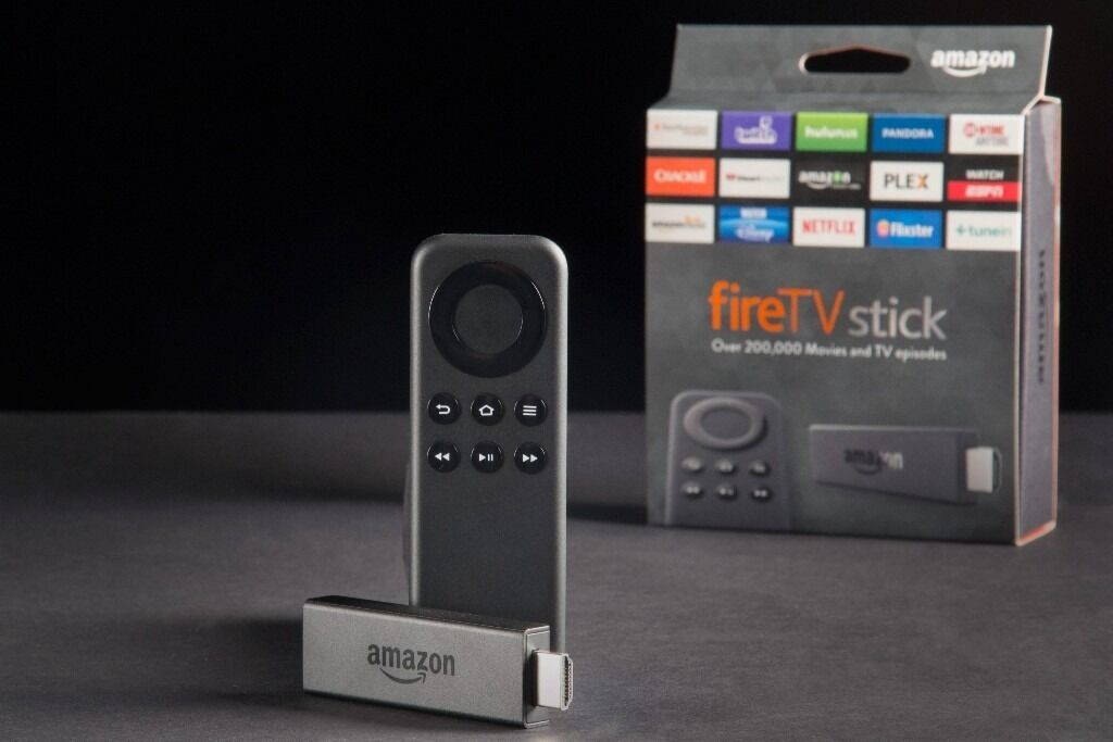 AMAZON FIRE TV STICK FULLY LOADED FOR 1000'S OF FREE MOVIES, TV SHOWS, SPORTS, MUSIC AND MUCH MORE