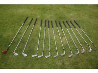 Golf Clubs, Golf Bag and Trolley