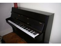 Osztreicher Upright Piano in a Black Satin Finish