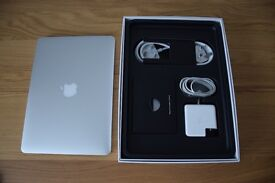 Macbook Pro Retina 13 inch Immaculate 512gb Late 2013 only 167 charging cycles