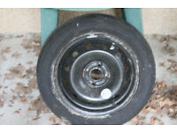 Renault Megane wheel with new tyre