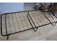 IKEA SYLLING folding single bed