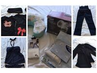 Maternity/pregnancy clothes and accessories bundle