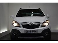 VAUXHALL MOKKA 1.7 SE CDTI 5d AUTO [LEATHER] 128 BHP (white) 2015