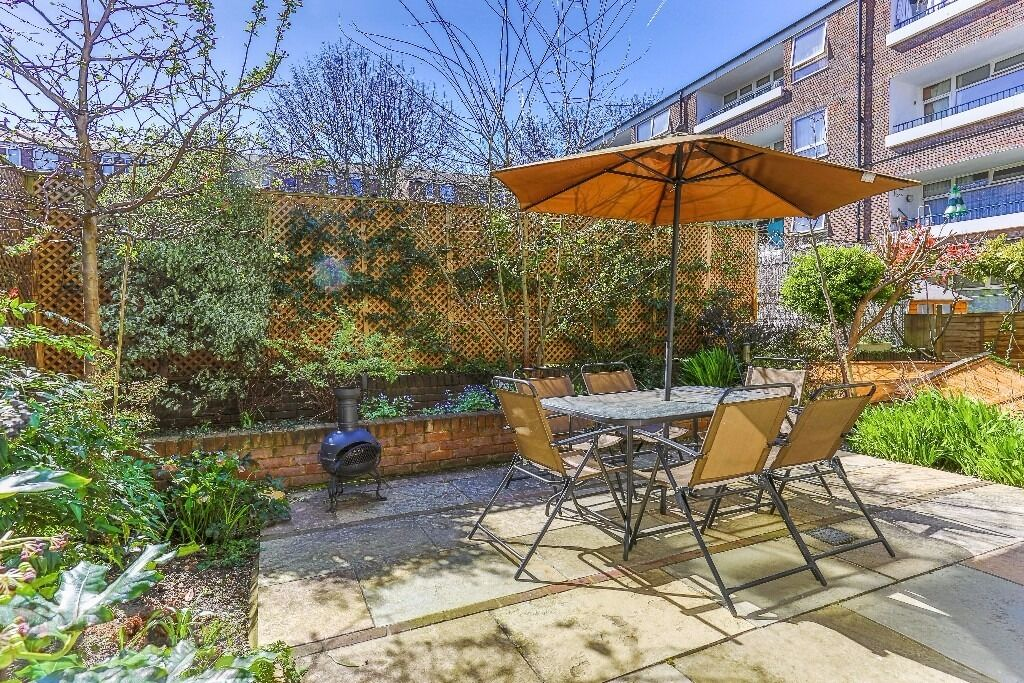 Stunning flat with TWO/THREE DOUBLE BEDROOMS in NW1