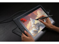 Wacom Cintiq 13 HD Interactive Pen Display, English Language Version - Black