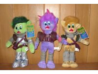 3 x cuddly toys from 'Parkdean - Treetops Grove', new with tags on.
