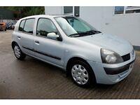 2003 Renault Clio 1.0 Automatic 5 door *** damaged repairable ***