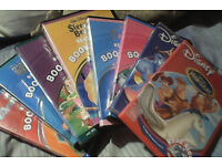 """9 Disney """"read to me"""" cds and books."""