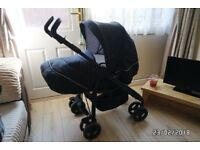 Silver cross 3 in 1 pushchair - Includes car seat and accessories - Suitable for new born and upward