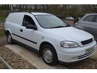 2003 vauxhall astra van 1.7 cdti with rear seats