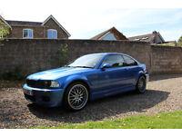 2003 BMW M3 E46 3.2 Manual Blue 90K