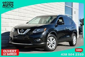2016 Nissan Rogue *SV*AWD*TOIT PANO*NOIR*NAVIGATION*CAMERA 360*